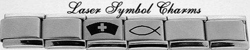 Laser Symbol Charms