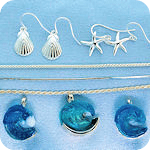 Wave & Nautical Sterling Jewelry