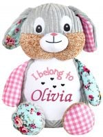 Pink Bunny Cubbie for girls