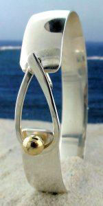 Teardrop Two Tone Cape Cod Bracelet