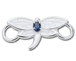 silver dragonfly clasp