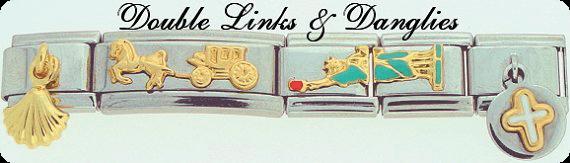 Double Links and Danglies Charms